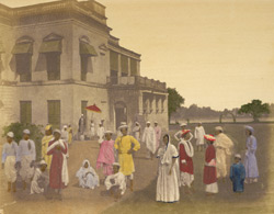 Dwelling of an English gentleman, [Garden Reach,] Calcutta